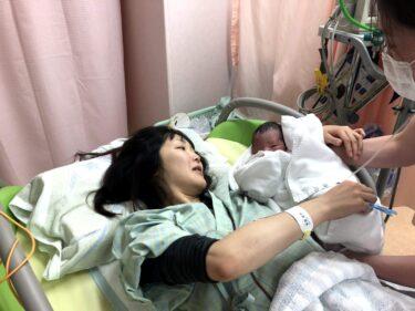 37週5日無事に男の子を出産しました! 出産①